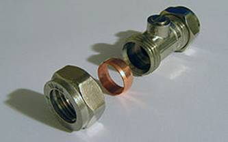 Compression connectors