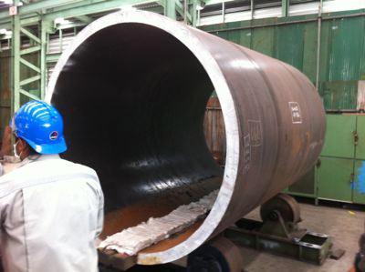 pressure vessel shell